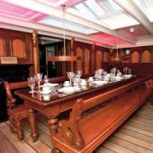 Unique dining experience at the Cutty Sark