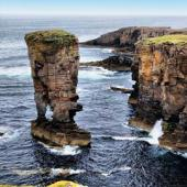 Cliffs of Yesnaby Orkney