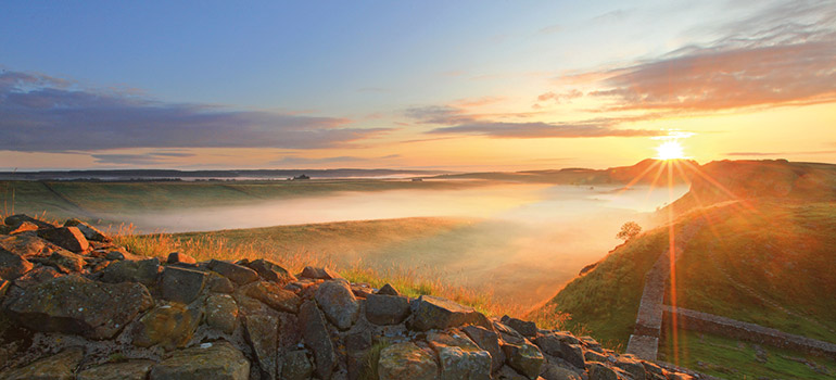 Hadrian's Wall. Credit: Roger Clegg