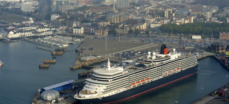 Queen Elizabeth, Port of Southampton