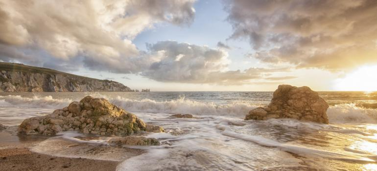 Alum Bay. Credit: Visit Isle of Wight