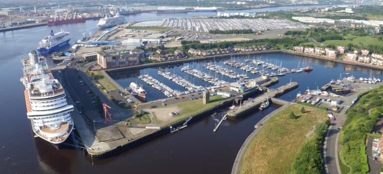 Port of Tyne will increase capacity at Northumbrian Quay, creating additional space which will double the quay width