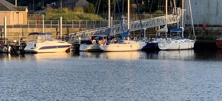 Port of Berwick Pontoon (under reconstruction)