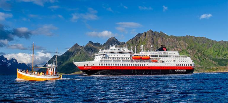 MS Otto Sverdrup. Credit: Hurtigruten