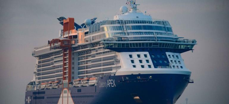 Celebrity Apex arriving in Southampton_Sept 2020