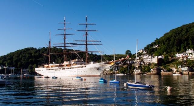 Sea Cloud II, Dartmouth